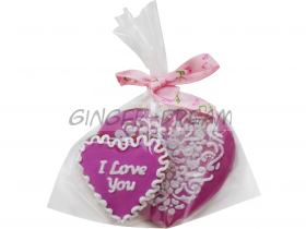 Сладкие подарки на день влюблённых Пряники «Имбирные валентинки»