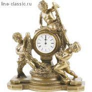 "Часы Империя Богачо ""Путти"" (41019 Б)"