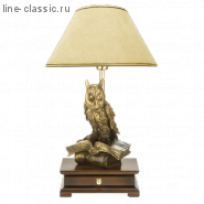 "Наст.лампа с бюро . Империя Богачо (СБ-15) ""Ученый филин""(33006/1) Абажур"