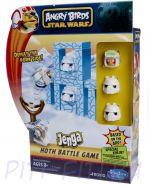 Hasbro GAMES SW Настольная игра Angry Birds Star Wars + транспортное средство. Ледяная планета Хот