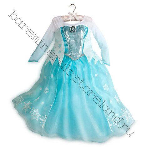 Elsa Deluxe Costume Костюм Эльзы ЛЮКС рост 128, 140 см