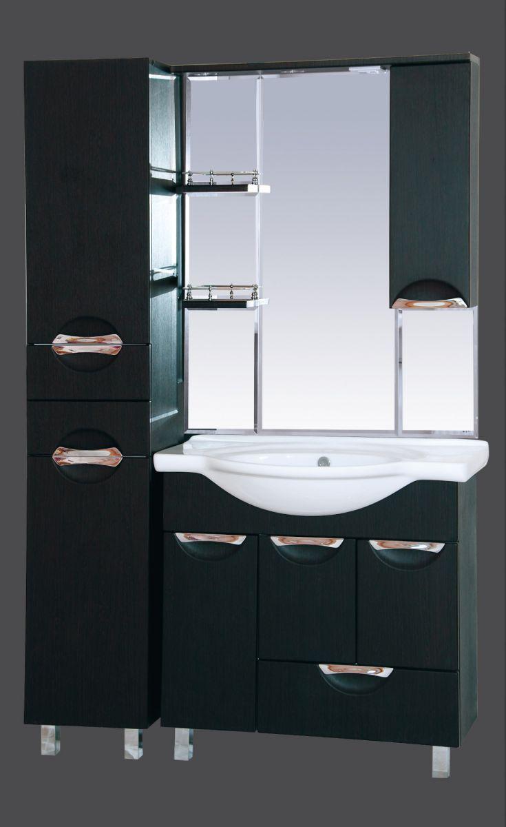 Зеркало-шкаф Misty Глория 85
