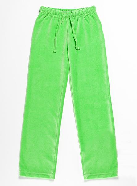 Велюровые брюки для девочки 4 лет