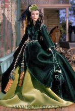 Коллекционная кукла Барби Скарлетт О'Хара на Персиковой улице, Платье из гардин - Scarlett O'Hara Doll On Peachtree Street — The Drapery Dress