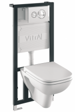 Vitra 9004B003-7200 Инсталляция с унитазом