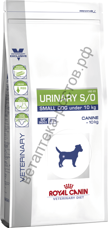 Royal Canin для собак Urinary S/O small dog (USD 20)