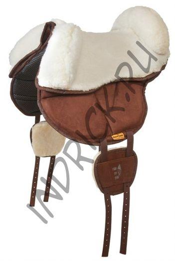 Меховое сиденье с упорами для пада Ride-on-Pad
