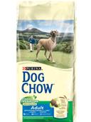Корм для взрослых собак крупных пород с индейкой, 14 кг