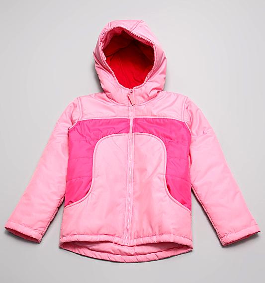 Куртка с утеплителем для девочки 8 лет