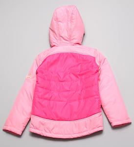 розовая куртка девочке