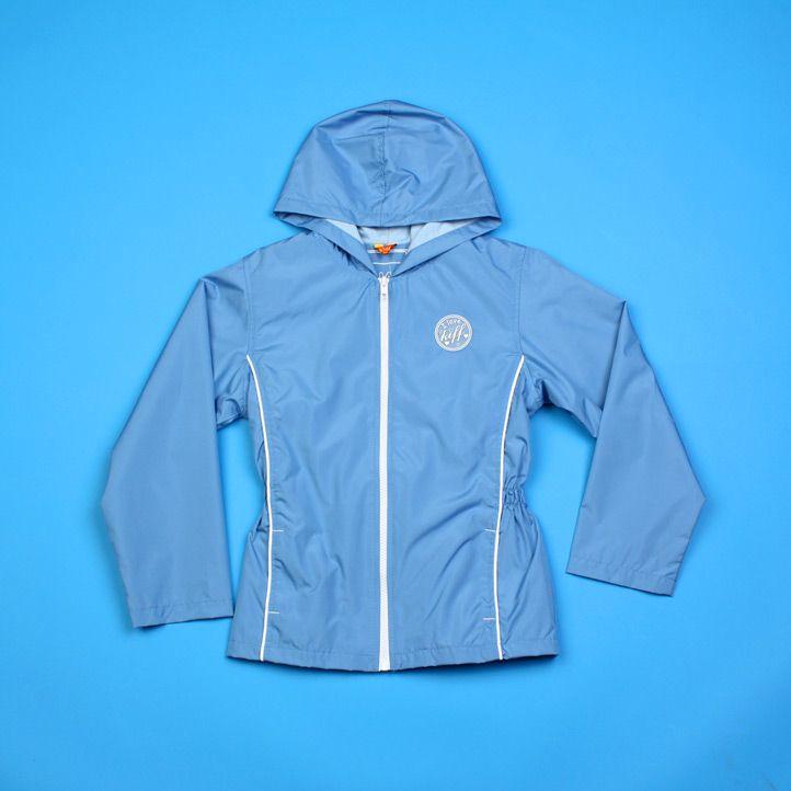 Куртка ветровка для девочки 8 лет
