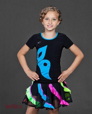 Купить костюм для бальных танцев латина среди молодёжи, интернет магазин Спортилиус