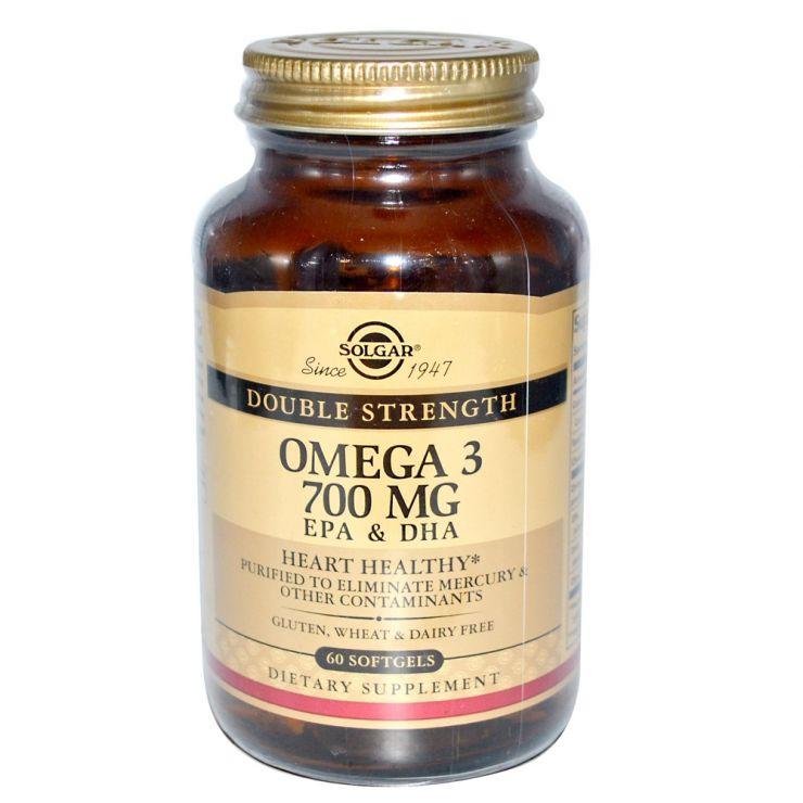 Двойная Омега-3 700 мг ЭПК и ДГК