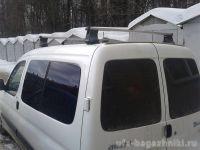 Багажник на крышу Citroen Berlingo, Атлант, прямоугольные дуги