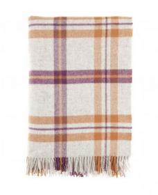 Шотландский плед, 100 % стопроцентная шерсть ягнёнка, расцветка Хаката, плотность 8