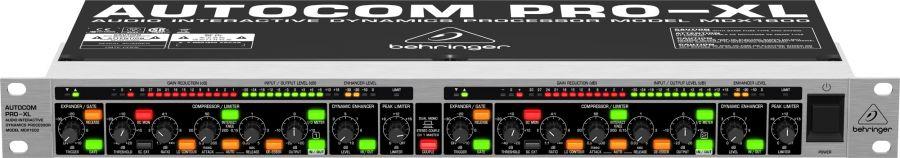 BEHRINGER MDX1600 Динамическая обработка