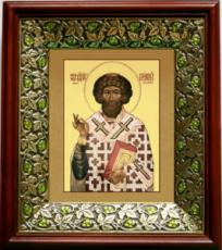 Климент, папа Римский (21х24), киот со стразами