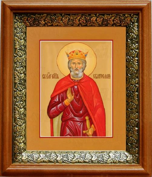 Святослав (19х22), светлый киот