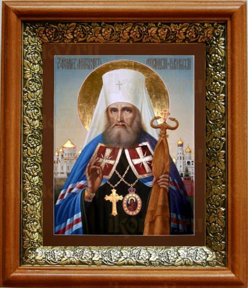 Филарет Московский (19х22), светлый киот