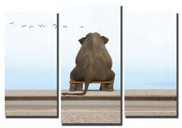задумчивый слон