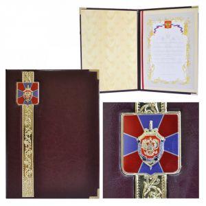 Представительская папка «Эксклюзив» с гербом ФСБ