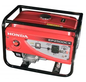 Генератор HONDA ЕР 2500 CX (2,0 кВА, GX 160, 38кг)
