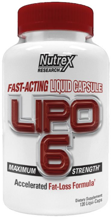 NUTREX Lipo 6 120капс.