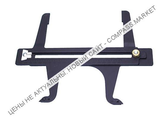AN010023 Приспособление для измерения размеров барабанов и диаметра установленных колодок барабанных тормозов 165-362 мм, JONNESWAY (Тайвань)