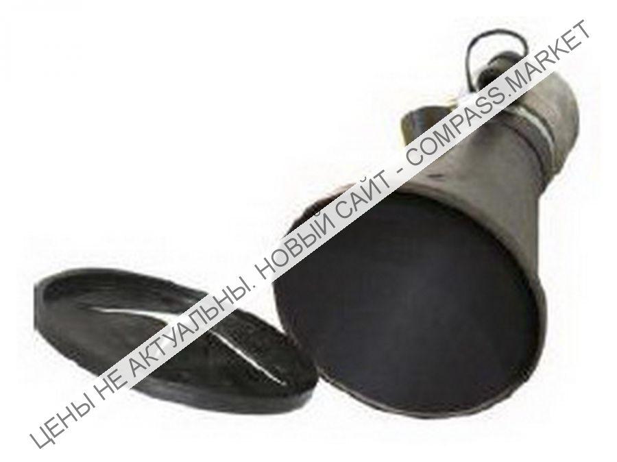 Насадка газоприёмная 100 мм. из каучука с заслонкой, Aerservice (Италия)
