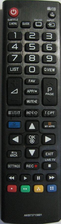 Пульт ДУ LG AKB 73715601 ic