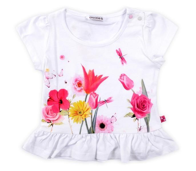 Блуза для девочки Цветочная поляна