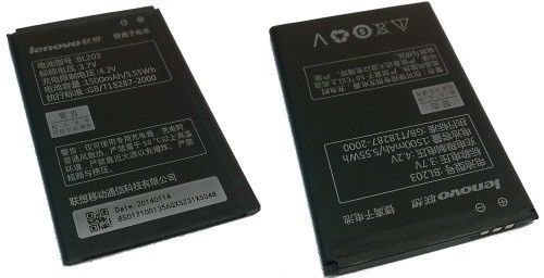 Аккумулятор Lenovo A66/A208T/A218T/A269/A300T/A308T/A316/A369/A316 (BL203/BL214) Оригинал