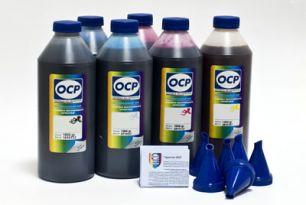 Комплект чернил ОСР (EGO, BKP110/111, CP110, YP116, RP110, MP110, OP 110) для картриджей EPS R1900/2000, 1000 gr x 8