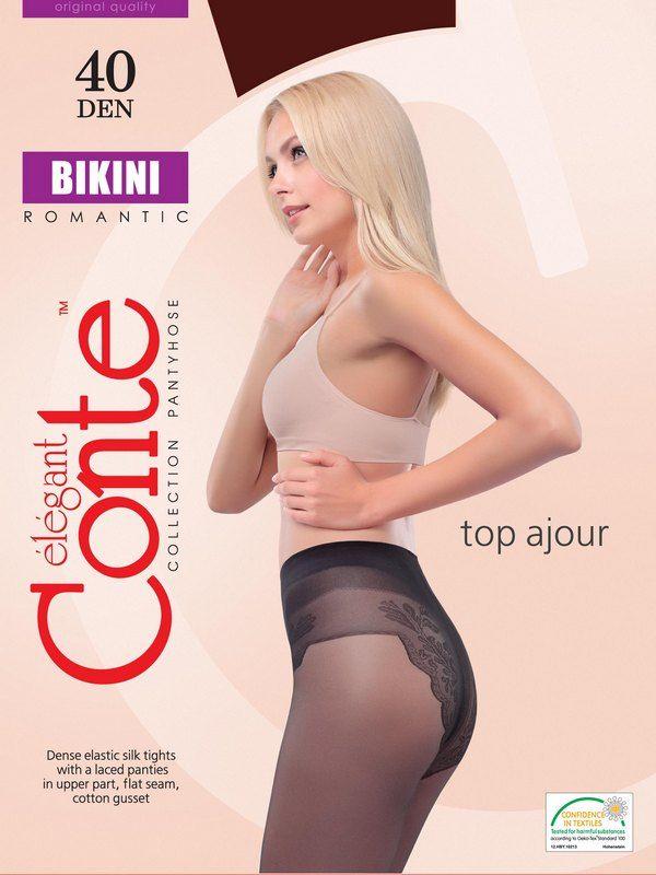 колготки CONTE Bikini 40