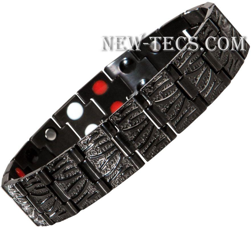 Магнитный браслет 04-TY116D-steel