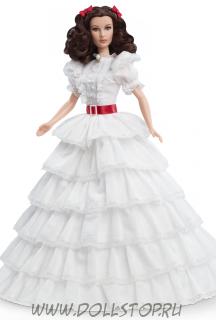 Коллекционная кукла Скарлетт О'Хара в белом платье - Gone with the Wind Scarlett O'Hara Doll
