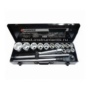 "6161-5 Набор инструментов 3/4"" 6-гр. 17-50 мм Forsage, 16 предметов."