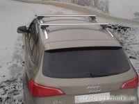 Багажник на крышу Audi Q5, Атлант, аэродинамические дуги