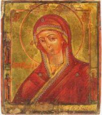 Икона Огневидная Божия Матерь