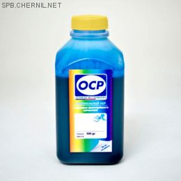 Чернила OCP 343 C для картриджей HP #655,  500 gr