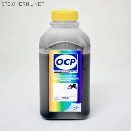 Чернила OCP 249 BKP pigment для картриджей HP #21,27,56,129,130,131,132,140,121,178,  500 gr