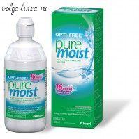 Опти-Фри PureMoist- обеспечивает прекрасное очищение и увлажнение всех типов контактных линз