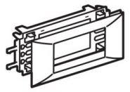 Суппорт 4 модуля для крышки 75 мм