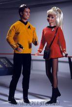 Коллекционные куклы сет Барби и Кен 30-летиe  Стар Трек - Barbie and Ken 30th Anniversary Star Trek Giftset