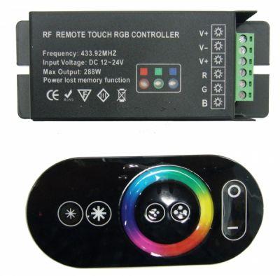 Регулятор цвета для RGB LED ленты Огонёк TD-1011