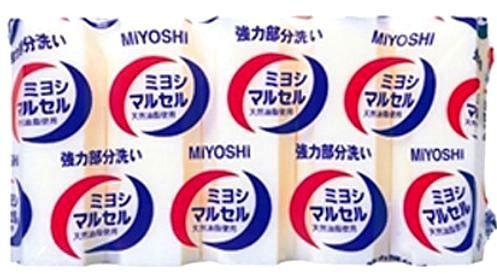 Хозяйственное мыло для точечного застирывания Miyoshi .
