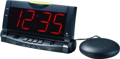 Часы будильник с вибро и свето датчиками TD-1005 сет.