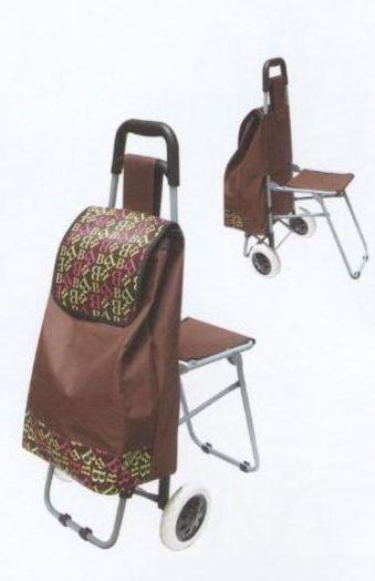 Сумка тележка с сиденьем Помощник ПМ-22