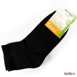Черные детские носки из бамбука