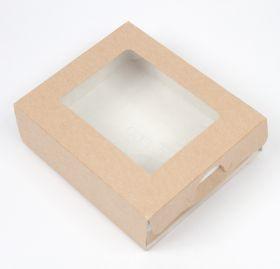 Коробка с окошком (10x8x3,5 см)